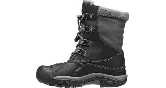 Keen Basin WP Shoes Youth Black/Gargoyle